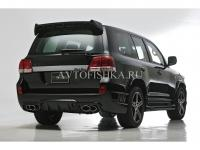 Toyota LAND CRUISER 200 (07-11) Бампер WALD BLACK BISON задний